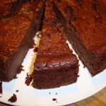 chestnut chocolate cake