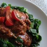 slow cooker wild rabbit meatballs