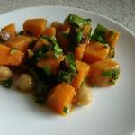 chickpea and kumara salad