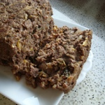 venison and zucchini meatloaf