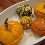 baked pumpkin medley