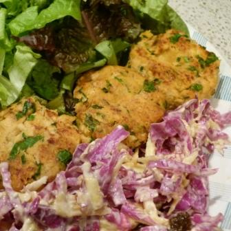 Fish Cakes Made With Tinned Salmon