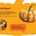 Pumpkin interpretation panel Kew 1