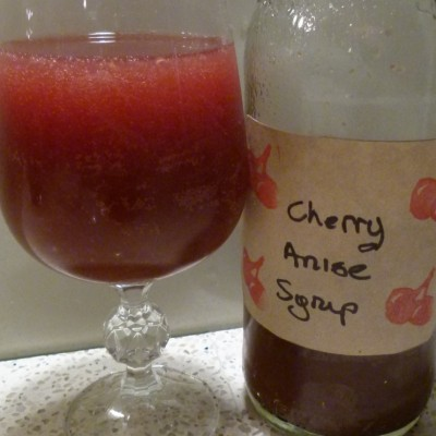 cherry anise syrup