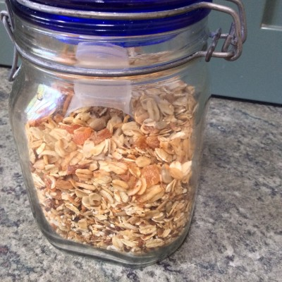 Toasted muesli in the slow cooker