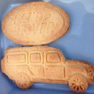 Landrover biscuits
