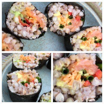 Buckwheat sushi